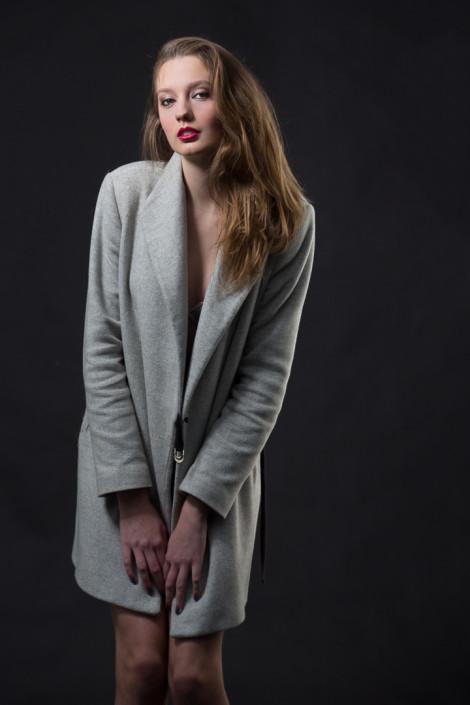 Model voor een dag shoot door onze professionele fotograaf.