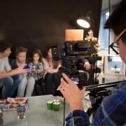 Wij verhuren een filmstudio voor videoproducties zoals deze.