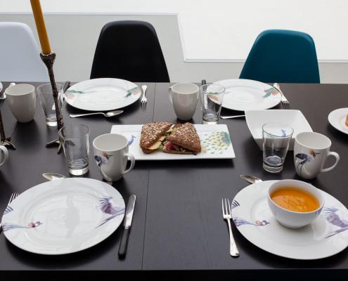 Catering te huur een fotostudio