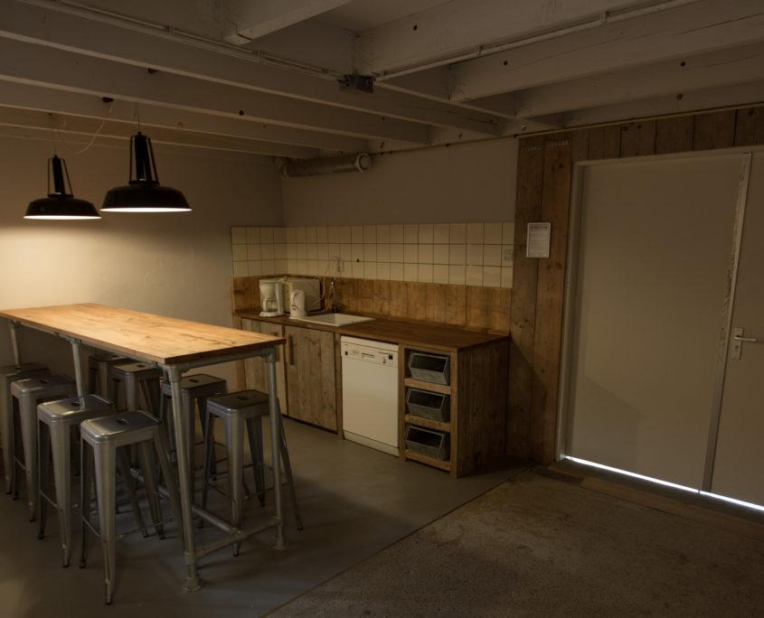 De studiokeuken